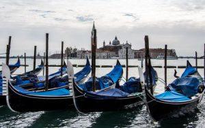vista del Canal Grande dalla piazza San Marco