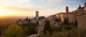 Panoramica della città di Perugia
